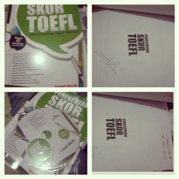 percepatan skor toefl cd