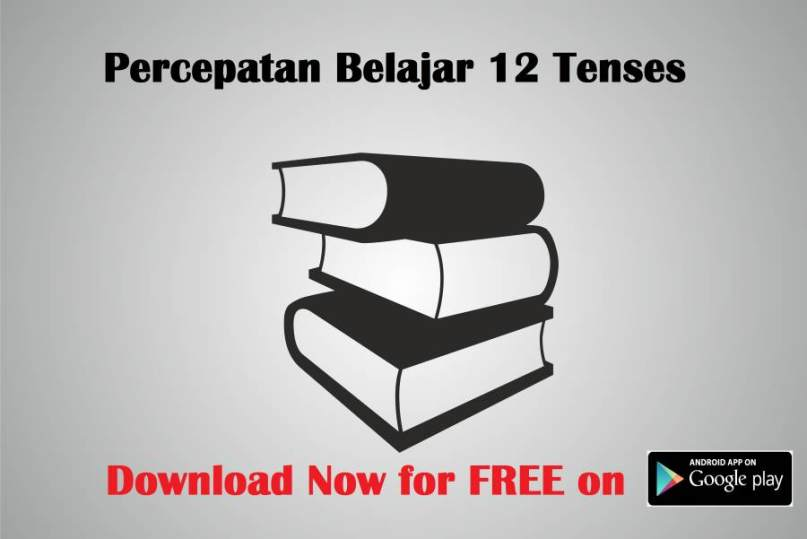 percepatan tenses