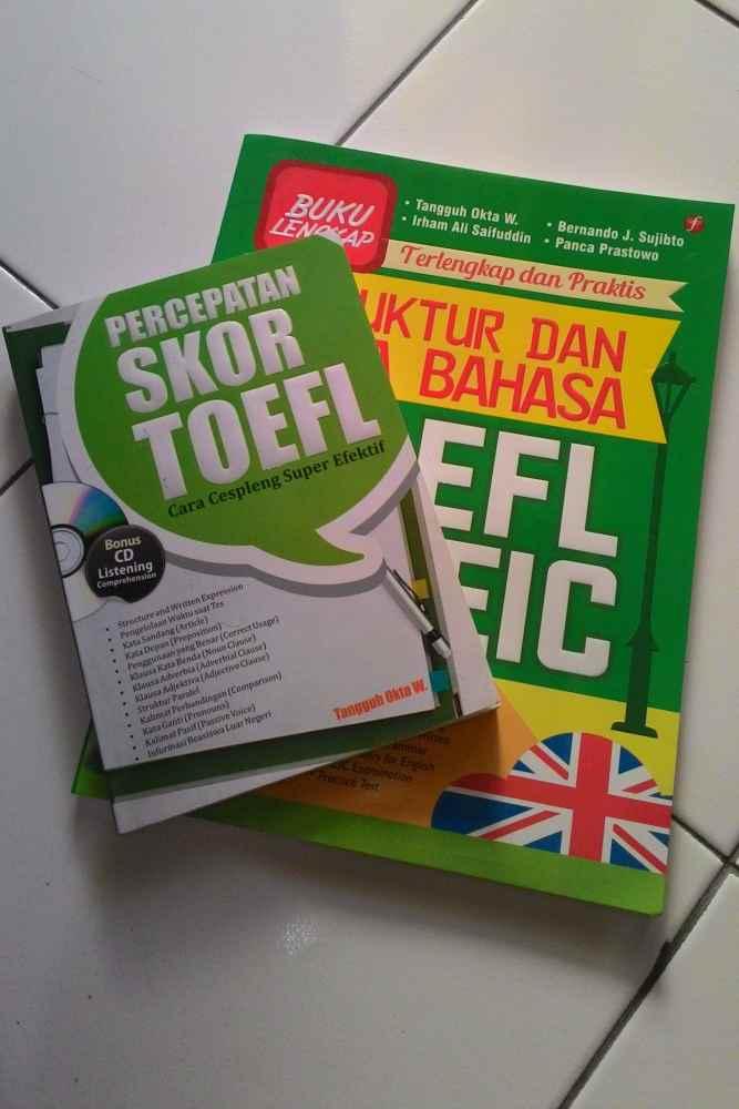 Buku Percepatan Skor TOEFL