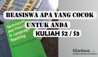 Informasi beasiswa s2 dan s3